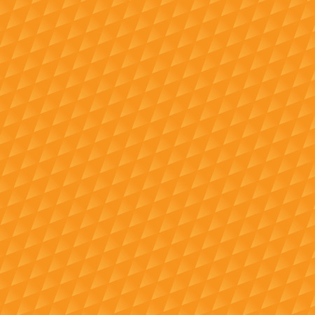 trendy tissue: orange triangle pattern. Vector background. Geometric abstract texture Illustration