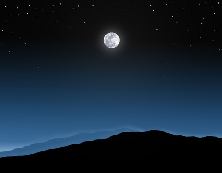 over the moon: full moon background. full moon on night sky with starry