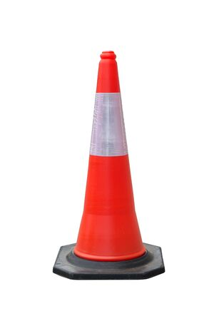 traffic   cones: Traffic cones isolate with clipping path