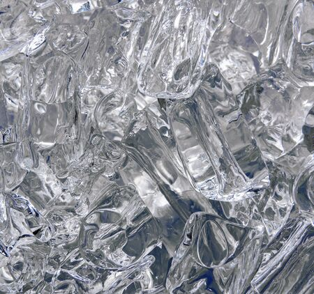 icy: Icy Abstract - Abstract Dark Blue Icy Shapes. Cool Glassy-Ice Abstract Background
