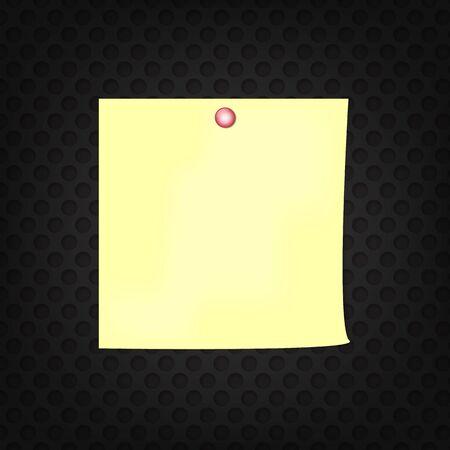 sticky note: Yellow sticky note