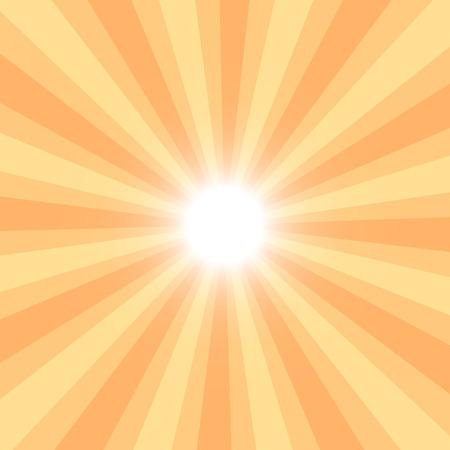 słońce: Sun Sunburst Vector illustration