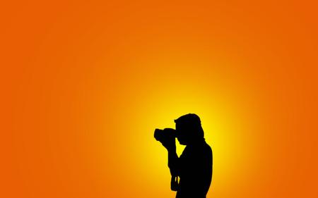 murk: Photographer man  silhouette