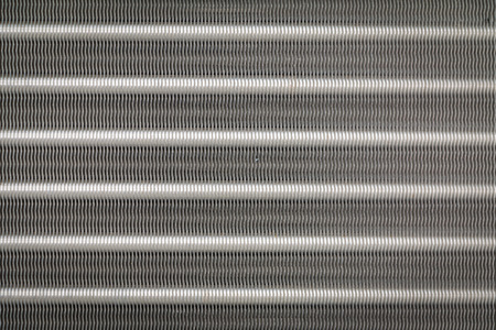 ventilate: Texture and backgroud of Aluminum fins of condenser for air conditioner Stock Photo