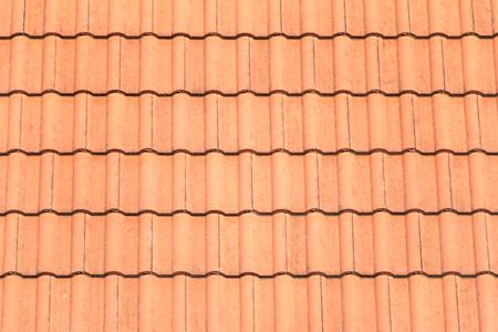 Gros plan de la texture de toit orange,