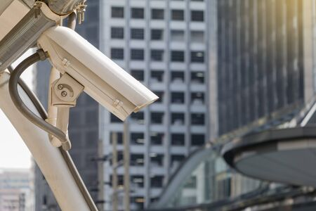 detects: Security camera detects the movement of traffic