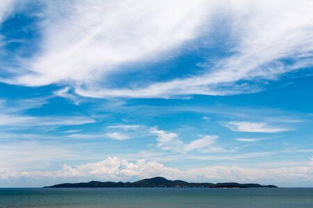Sky cloud and islands