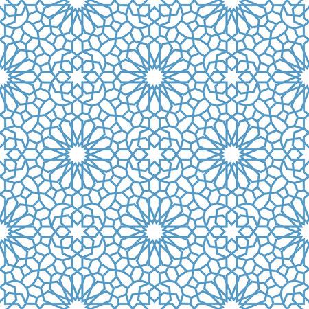 Arabisch naadloos patroon. Patroon vult. Oosterse, Arabische stijl. Mozaïek naadloze patronen. Arabische ornamenten. Vector illustratie.