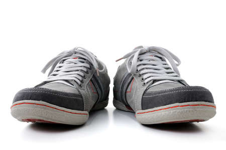isolated shoes on white background Banco de Imagens