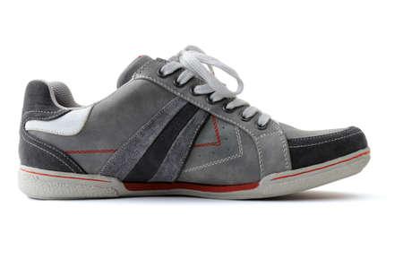 isolated shoe on white background