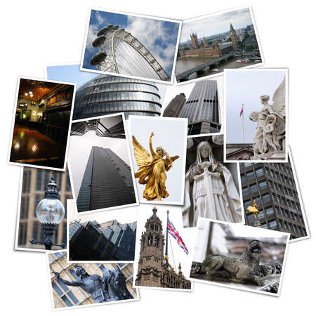 collage from London in England, United Kingdom. All photos taken by me and available also separately