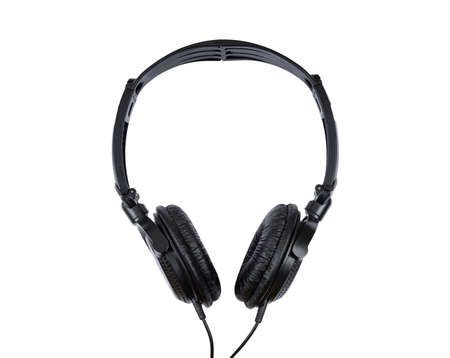 isolated headset on white background with clipping path Banco de Imagens