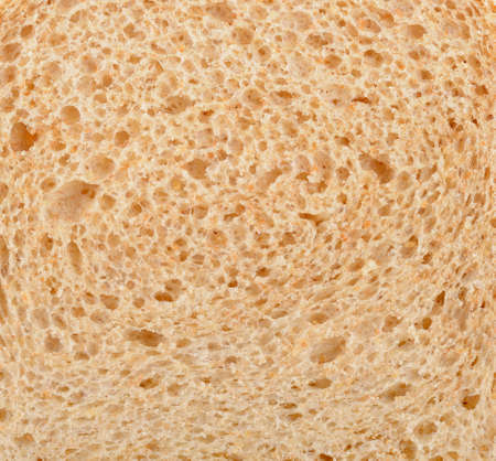 Close up of bread, texture background Banco de Imagens