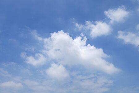 soft   focus: blue sky and clound,soft focus Stock Photo