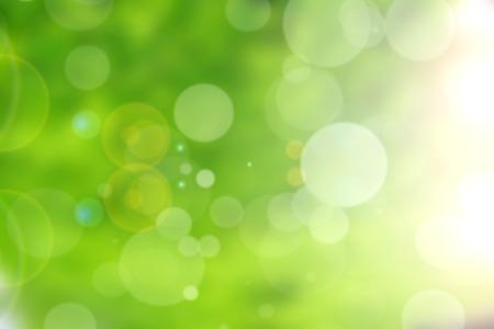 groene natuur bokeh achtergrond abstract Stockfoto