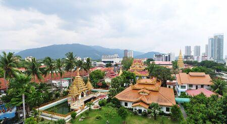 malaysia culture: Temple in Penang ,malaysia