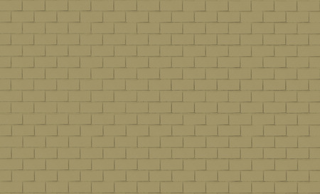 green brown: Brick wall background in green brown tone