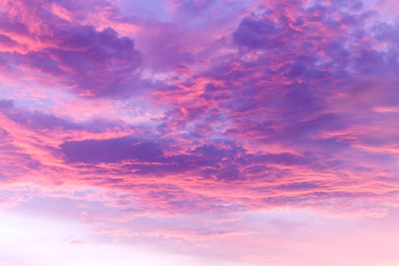 abstract sky and cloud in sunsetsoft focus Stock Photo