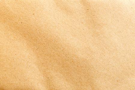 papel artesanal: textura de papel en tono marr�n Foto de archivo