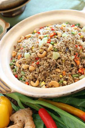 asian food Thai fried rice - thai cuisine Stock Photo - 4551233