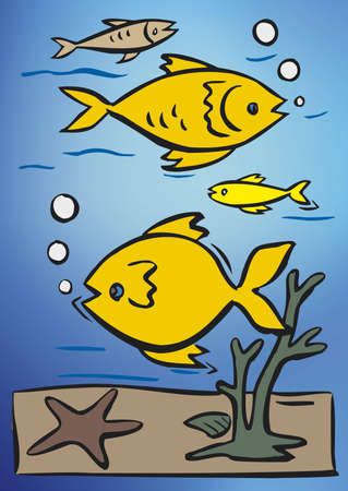 fish designs Vector