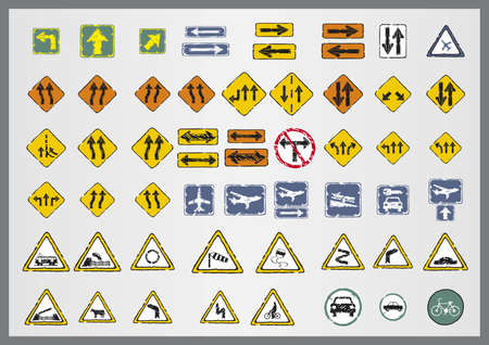 autoscuola: american road markings