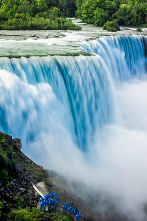 niagara falls city: Niagara Falls Stock Photo