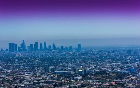Los Angeles Skyline Foto de archivo