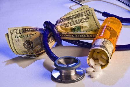 Health care cost squeezing the dollar  photo
