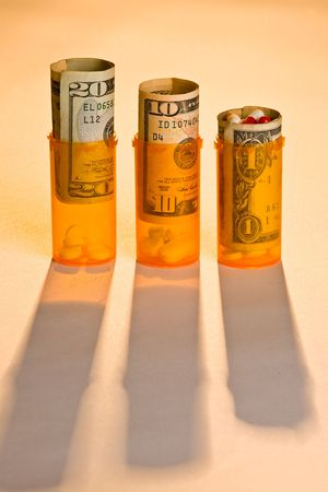 doctor money: Rising Cost of medicine