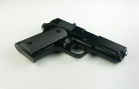 BB gun, on white background