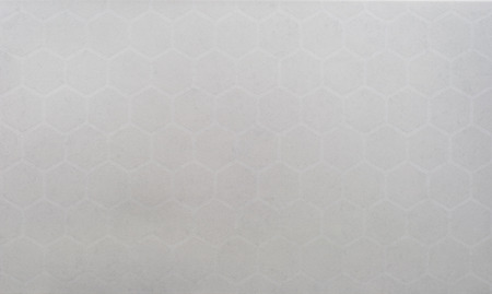 modern bathroom: Abstract background texture ; closed up white ceramic wall tile, hexagonal texture.