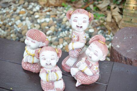 dolls: Clay Dolls