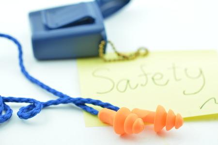 safety: earplug,safety