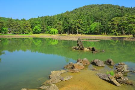 world heritage site: Fresh pond is a world heritage site hiraizumi-motsu-JI oizumi