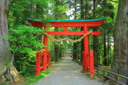 hakusan: World Heritage hiraizumi chsonji Temple Hakusan shrine Torii