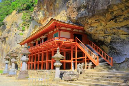 world heritage site: World Heritage site hiraizumi takkoku no Iwaya bishamon