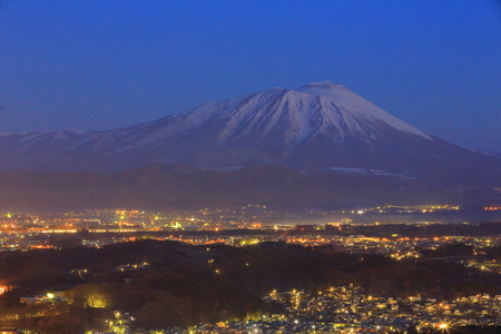 lightup: Night view of Morioka