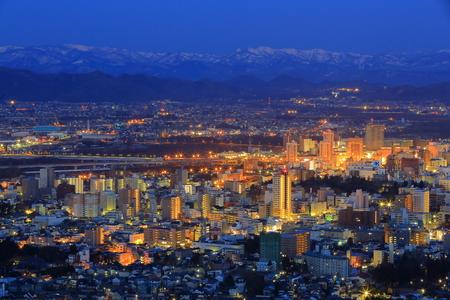 Night view of Morioka