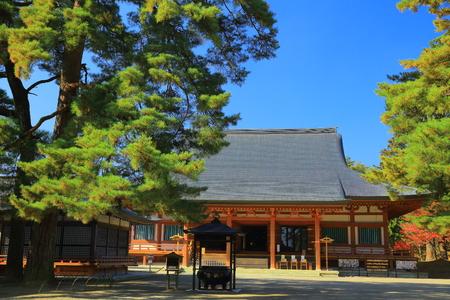 Hiraizumi patrimoine mondial laisse motsu-JI Banque d'images - 68397314