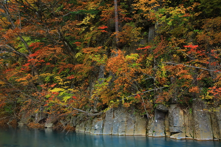 Hachiman-Taira leaves Matsukawa River