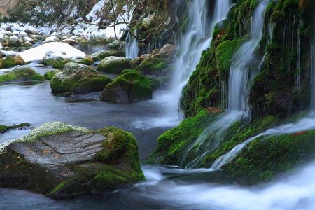 subsoil: Winter from subsoil water falls