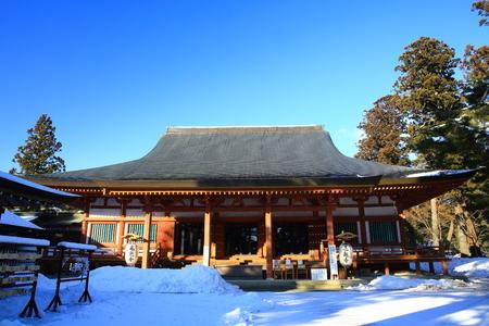 the place is important: World Heritage hiraizumi winter motsu-JI