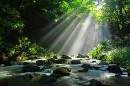scenic spots: Akita Prefecture, kameda fudo waterfall