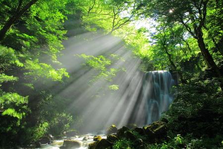 Akita Prefecture, kameda fudo waterfall