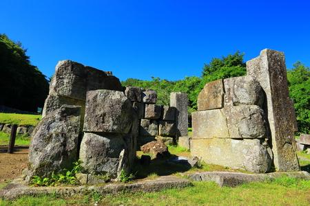 third world: World Heritage site Iwate Kamaishi-shi ?? blast furnace ruins third blast