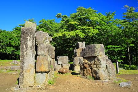 third world: World Heritage site Iwate Kamaishi-shi? blast furnace ruins third blast