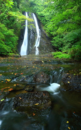 Hanamaki, Iwate Prefecture together imagase falls