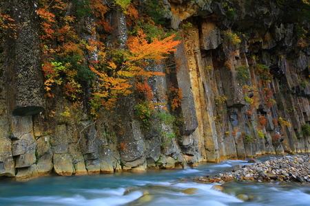 Matsukawa River in autumn