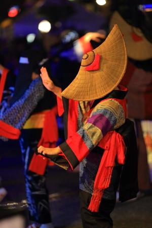 Nishimonai Bon Festival-dans Stockfoto - 85211030